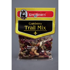 King Henry's Cranberry Trail Mix 6.75oz