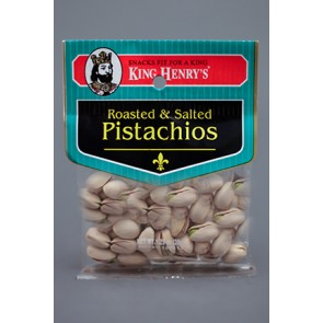 King Henry's Roasted Salted Pistachios 1.75oz