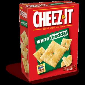 Cheez-It Crackers White Cheddar (3oz)