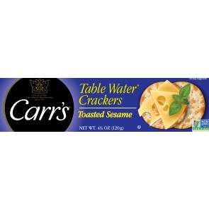 Carr's Crackers Toasted Sesame 4.25oz