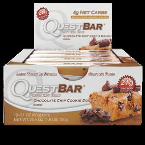 Quest Bar Choc Chip Cookie Dough 2oz