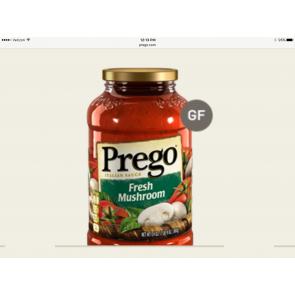 Prego Italian Sauce Fresh Mushroom 14oz