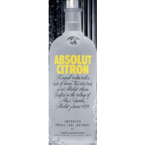 Absolut  Citron (750ML)