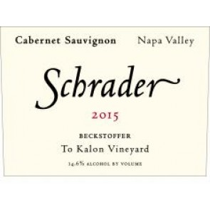 2015 Schrader Beckstoffer To Kalon Cabernet Sauvignon (750ML)